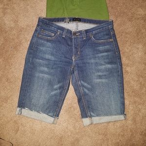Limited Size 8 Jean Shorts